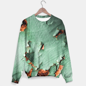 Cool turquoise brown rusty metal  Sweater thumbnail image