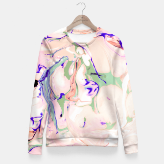 Thumbnail image of Light colored liquid Sudadera entallada, Live Heroes