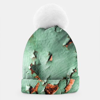 Cool turquoise brown rusty metal  Beanie thumbnail image