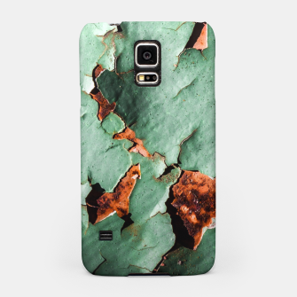 Cool turquoise brown rusty metal  Samsung Case thumbnail image