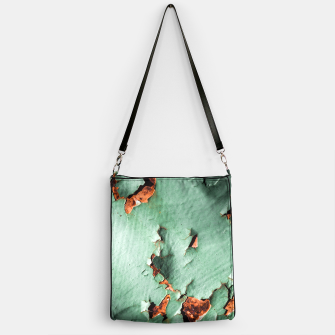 Cool turquoise brown rusty metal  Handbag thumbnail image