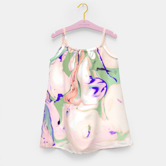 Thumbnail image of Light colored liquid Vestido para niñas, Live Heroes