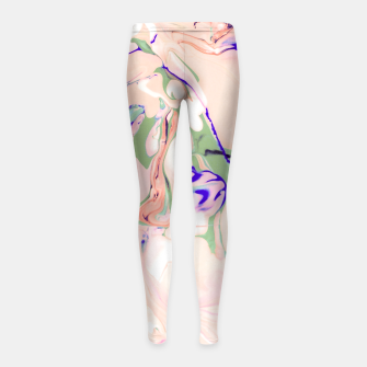 Thumbnail image of Light colored liquid Leggings para niña, Live Heroes
