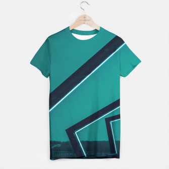 Thumbnail image of Turqoise Neon T-shirt, Live Heroes