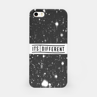 Thumbnail image of Black & White Striped iPhone Case, Live Heroes