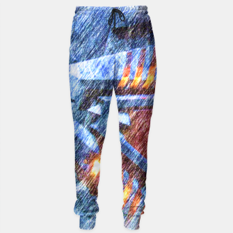 Thumbnail image of Chevron Sweatpants, Live Heroes
