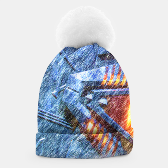 Thumbnail image of Chevron Beanie, Live Heroes