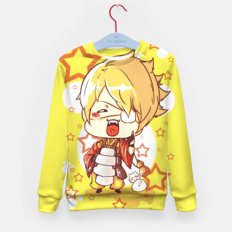 Thumbnail image of Little Samurai Kid's Sweater, Live Heroes