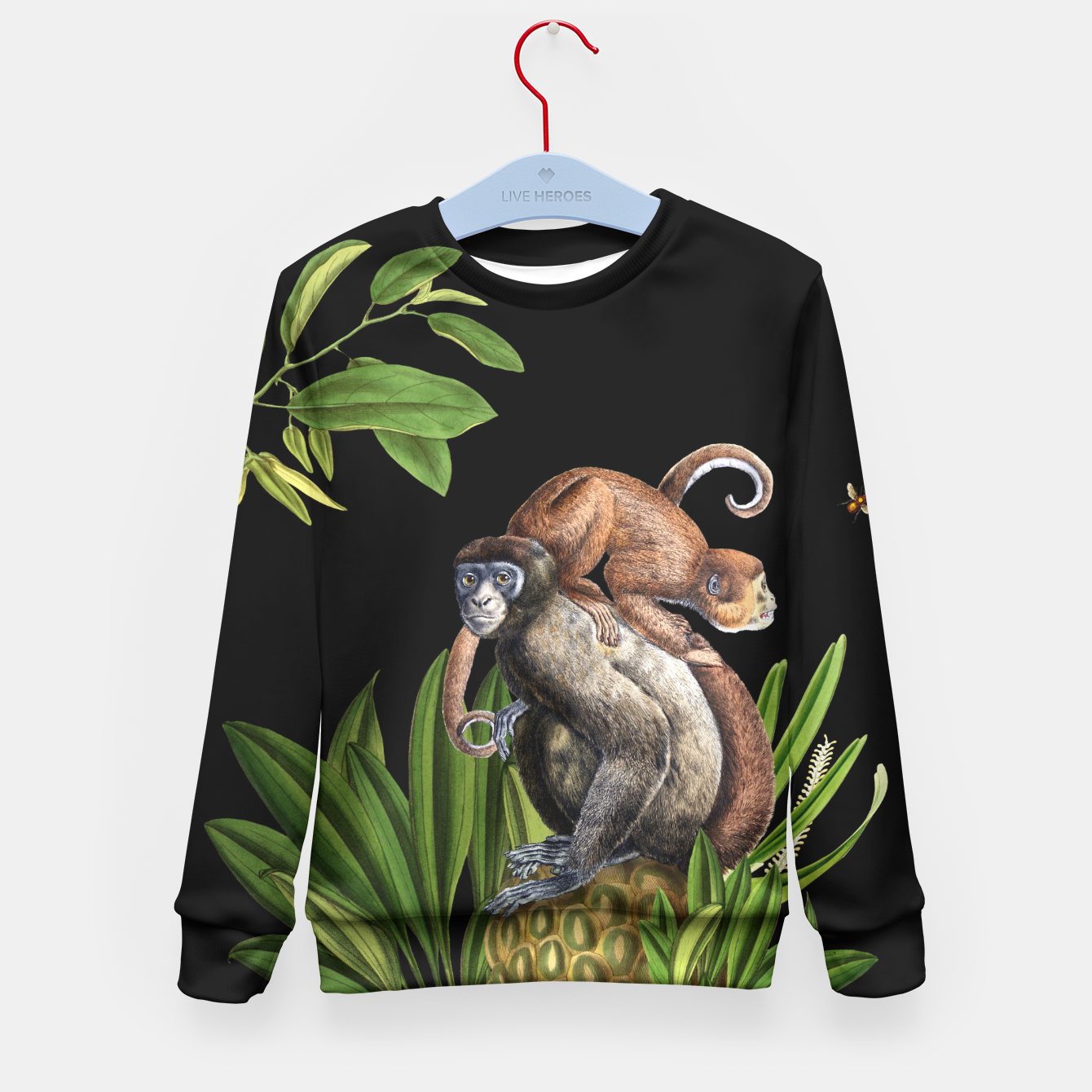 Image of Monkey Kid's Sweater - Live Heroes