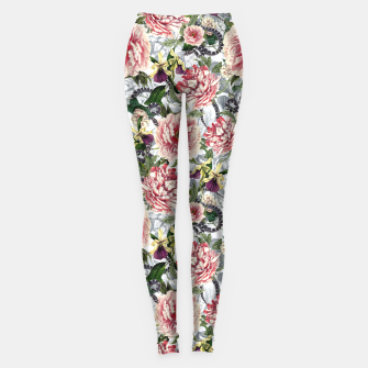 Thumbnail image of Snakes And Flowers Leggings, Live Heroes