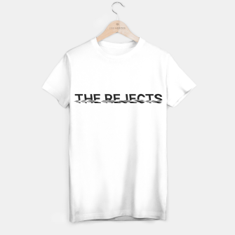 Miniatur The Rejects (Black Font) T-shirt, Live Heroes