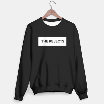 Thumbnail image of The Rejects (Black Font Boxed) Beanie Sweater regular, Live Heroes