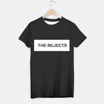 Miniatur The Rejects (Black Font Boxed) Beanie T-shirt regular, Live Heroes