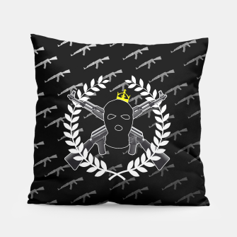 Thumbnail image of WARR10R ☠ BLACK (Pillow), Live Heroes