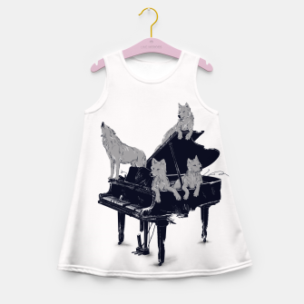 Thumbnail image of Wolf Gang Girl's Summer Dress, Live Heroes