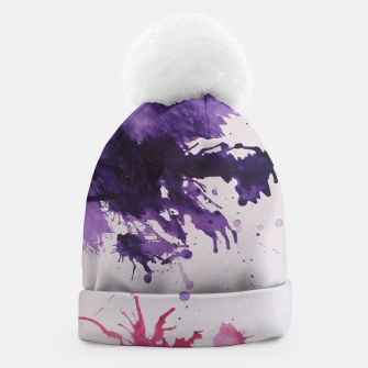 Thumbnail image of violet dream beanie, Live Heroes