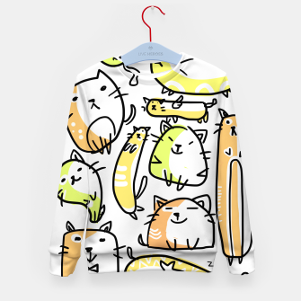 Miniature de image de A Dozen Cat Kid's Sweater, Live Heroes