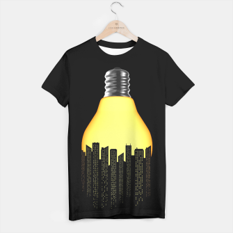 Thumbnail image of Bright Light Big City T-shirt, Live Heroes