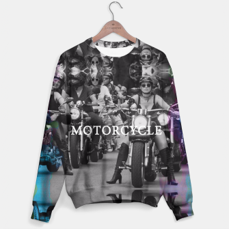 Thumbnail image of Motorcycle Sweater, Live Heroes