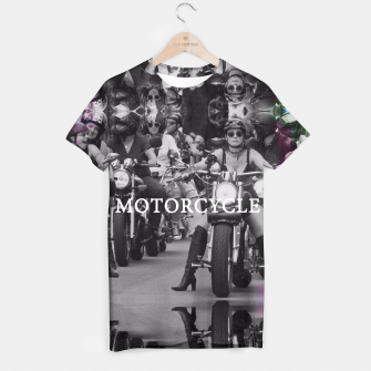 Thumbnail image of Motorcycle T-shirt, Live Heroes