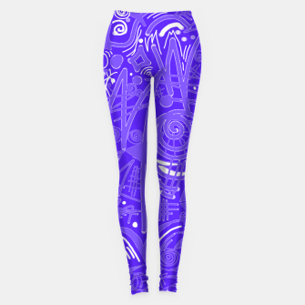 Thumbnail image of Painted Chalk! Leggings, Live Heroes