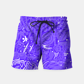 Thumbnail image of Painted Chalk! Swim Shorts, Live Heroes