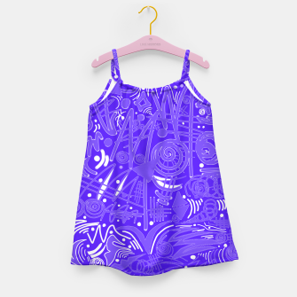 Thumbnail image of Painted Chalk! Girl's Dress, Live Heroes