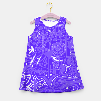 Thumbnail image of Painted Chalk! Girl's Summer Dress, Live Heroes