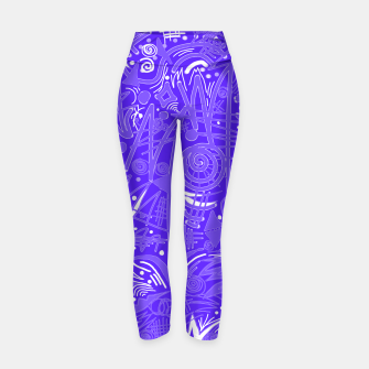 Thumbnail image of Painted Chalk! Yoga Pants, Live Heroes