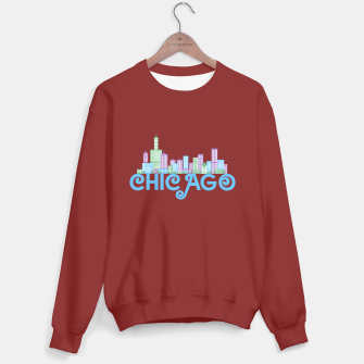 Thumbnail image of Chicago Skyline Sweater regular, Live Heroes