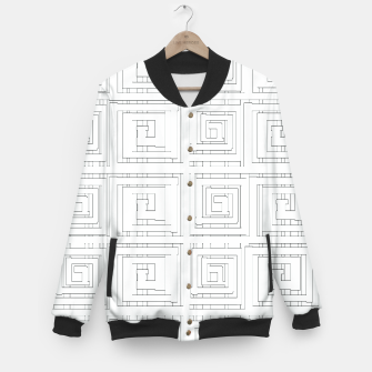 Thumbnail image of Egyptian Print Baseball Jacket, Live Heroes