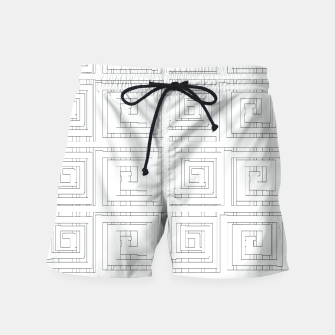 Thumbnail image of Egyptian Print Swim Shorts, Live Heroes