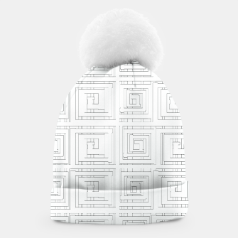 Thumbnail image of Egyptian Print Beanie, Live Heroes