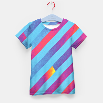 Thumbnail image of Pattern 1  Kid's T-shirt, Live Heroes
