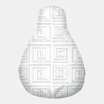Thumbnail image of Egyptian Print Pouf, Live Heroes