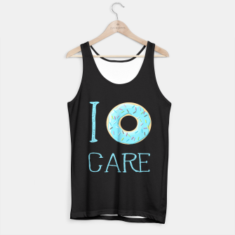 Thumbnail image of Donut care Tank Top, Live Heroes