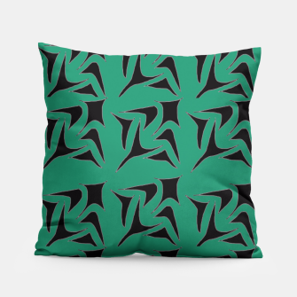 Thumbnail image of Fused in Green Pillow, Live Heroes