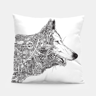 Thumbnail image of wolf Pillow, Live Heroes