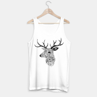 Miniature de image de deer Tank Top regular, Live Heroes