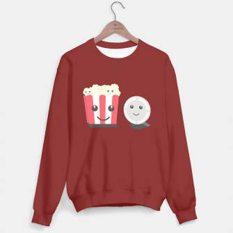 Thumbnail image of Cinema movie pocorn with faces Sweater regular, Live Heroes