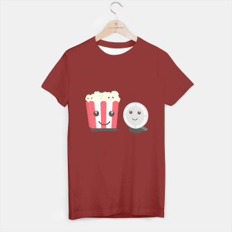 Thumbnail image of Cinema movie pocorn with faces T-shirt regular, Live Heroes
