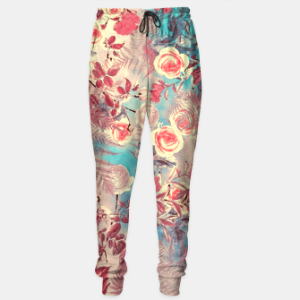 Thumbnail image of flowers Sweatpants, Live Heroes