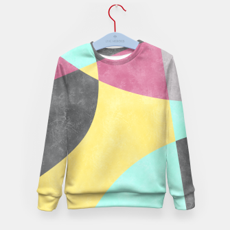 Thumbnail image of Fragments II Kid's Sweater, Live Heroes