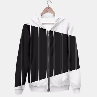 Thumbnail image of Angled  Hoodie, Live Heroes