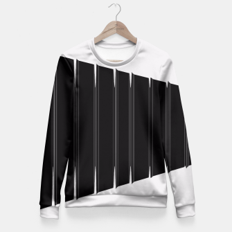 Thumbnail image of Angled  Fitted Waist Sweater, Live Heroes