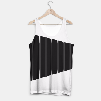 Thumbnail image of Angled  Tank Top, Live Heroes