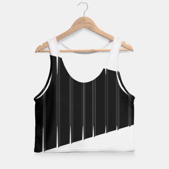 Thumbnail image of Angled  Crop Top, Live Heroes