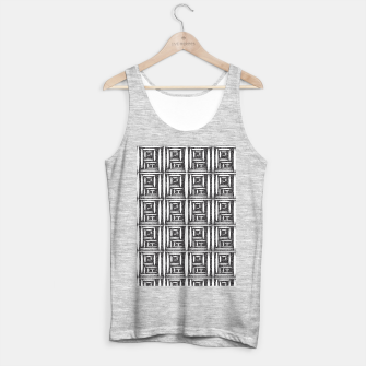 Thumbnail image of Defined Lined  Tank Top regular, Live Heroes