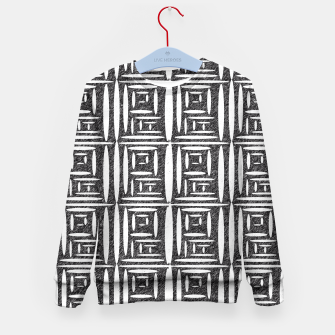 Thumbnail image of Defined Lined  Kid's Sweater, Live Heroes