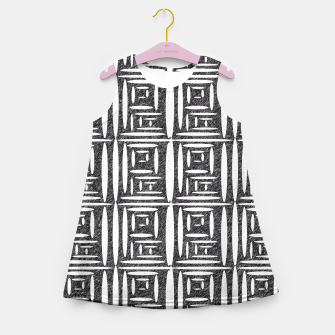 Thumbnail image of Defined Lined  Girl's Summer Dress, Live Heroes